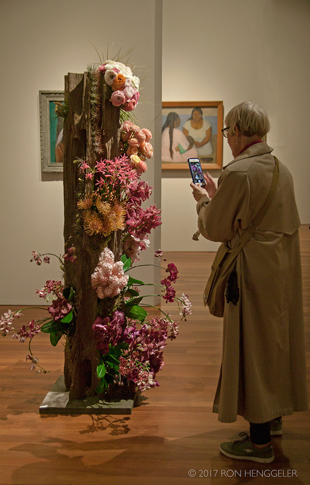 Bouquets To Art At The De Young Museum In San Francisco